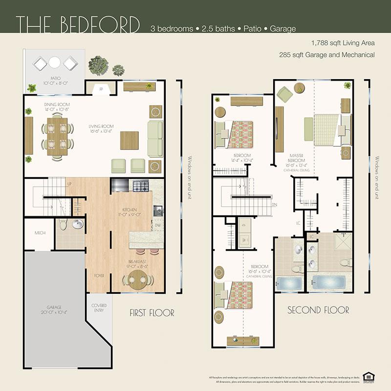 bedford floor plan willowwood