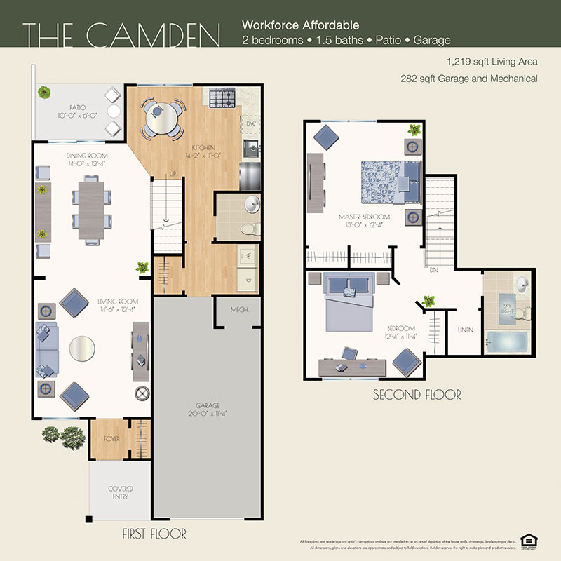 camden floor plan willow wood